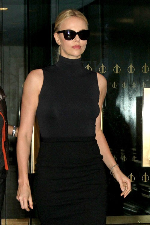 Charlize Theron chic pour le Today Show