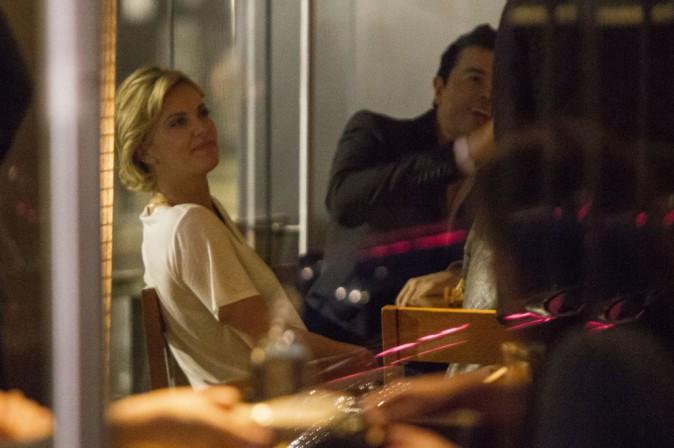 Charlize Theron et Sean Penn à Londres le 26 mai 2014