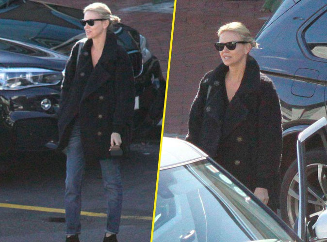 "Charlize Theron sur le tournage de ""The Last Face"""