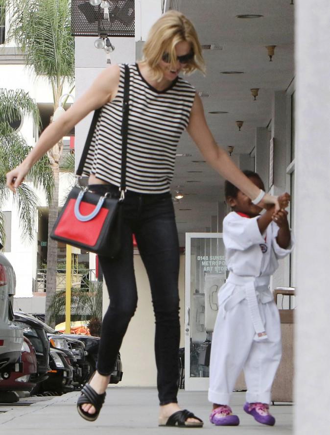 Photos : Charlize Theron : plus complice que jamais avec son fils !