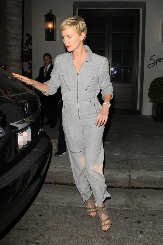 Charlize Theron à Beverly Hills, le 28 avril 2013.