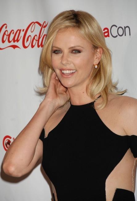 Charlize Theron au CinemaCon à Las Vegas, 26 avril 2012.