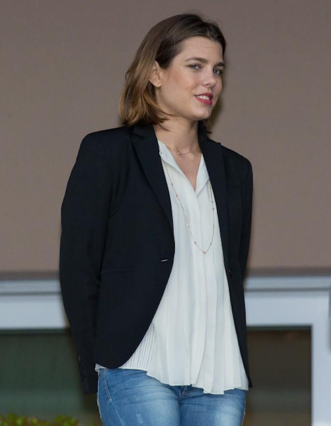 Charlotte Casiraghi en mai 2013, à deux mois de grossesse !
