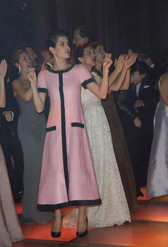 Charlotte Casiraghi au 61ème Bal de la Rose à Monaco, le 28 mars 2015 !