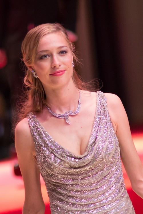 Pierre Casiraghi et sa compagne, Béatrice Borromeo au 61ème Bal de la Rose à Monaco, le 28 mars 2015 !