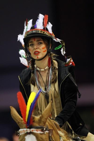 Charlotte Casiraghi le 1 décembre à Paris