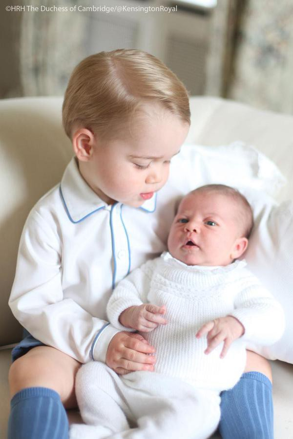 Photos : Charlotte de Cambridge : tendres moments de complicité avec son grand frère George !