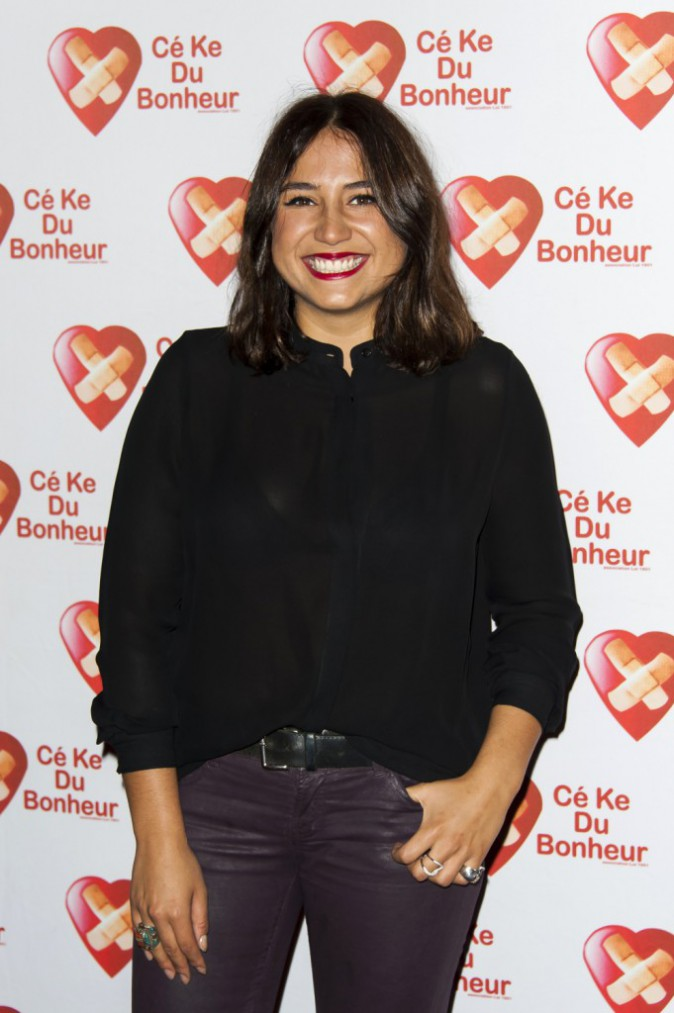 Izïa Higelin à Paris le 14 octobre 2014