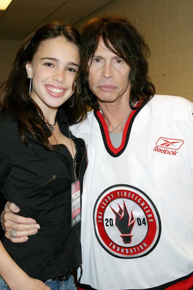 Chelsea Tyler et son papa Steven Tyler en 2004