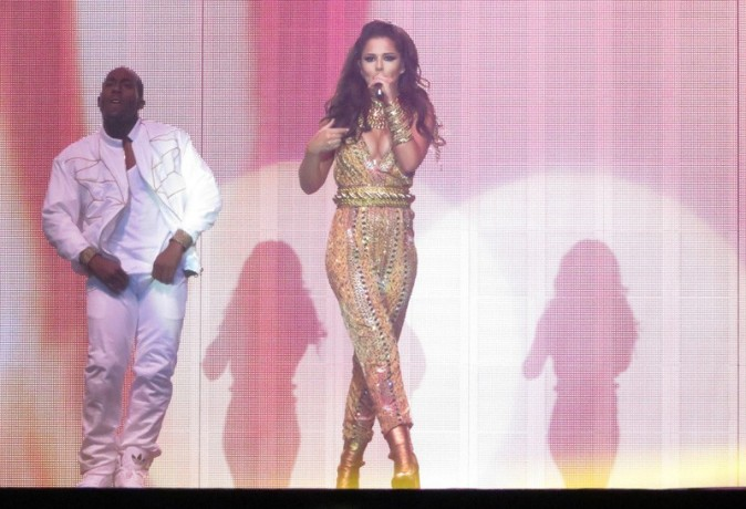 Cheryl Cole en concert à Belfast le 3 octobre 2012