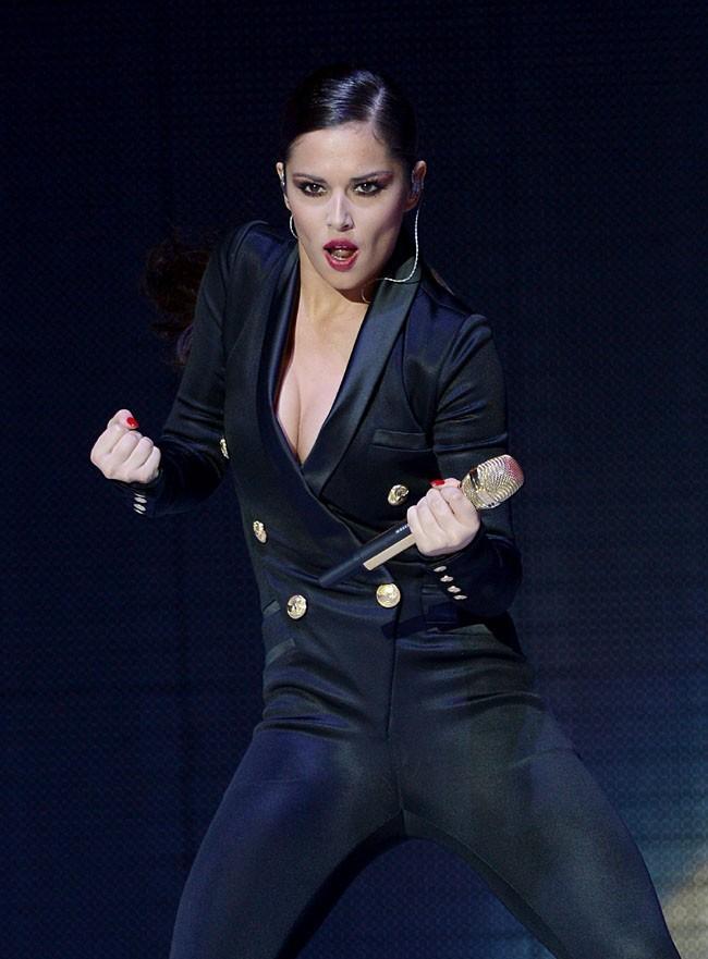 Cheryl Cole au Jingle Bell Ball 2012 à Londres le 8 décembre 2012