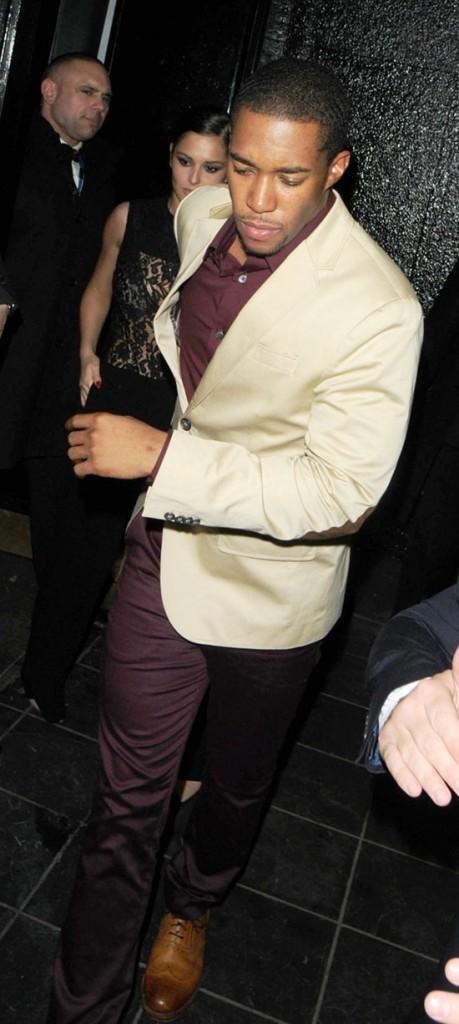 Cheryl Cole avec son boyfriend Tre Holloway à Londres le 8 décembre 2012