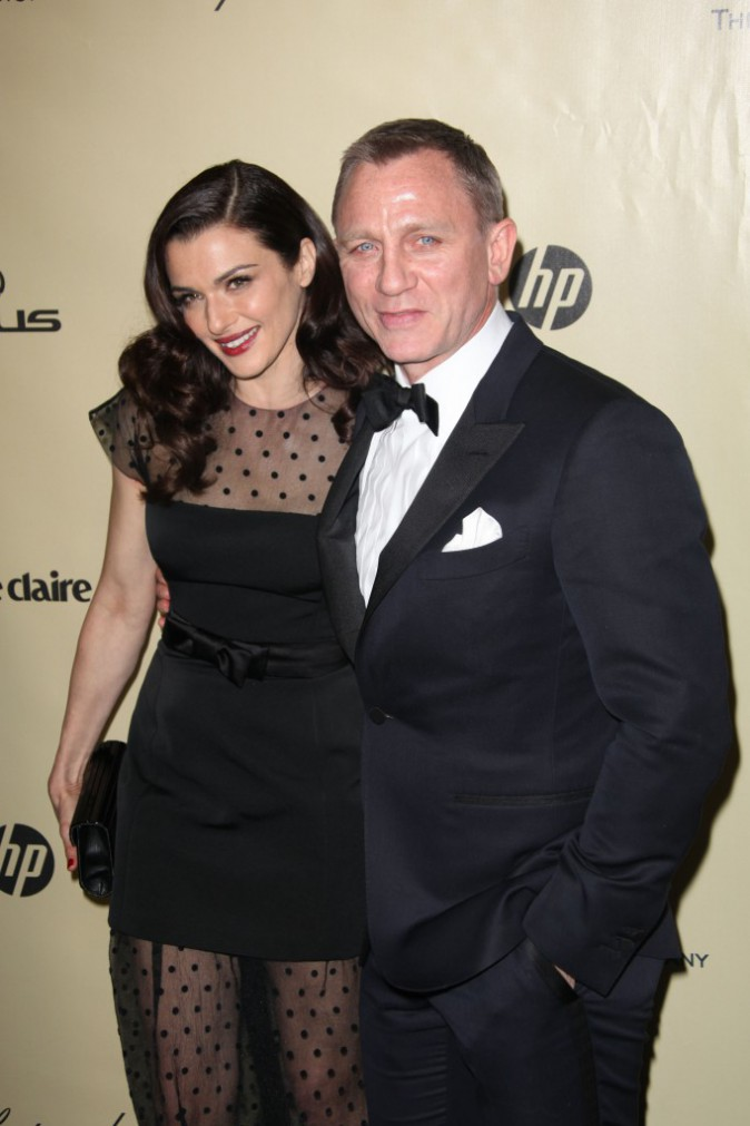 Daniel Craig et Rachel Weisz's