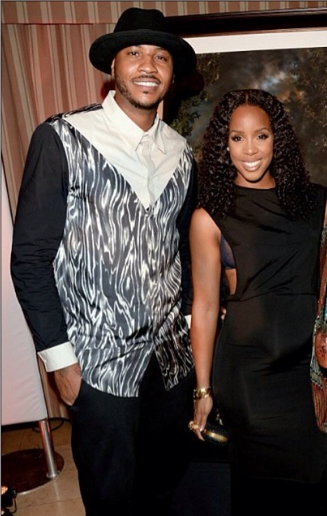 Kelly Rowland et Tim Witherspoon