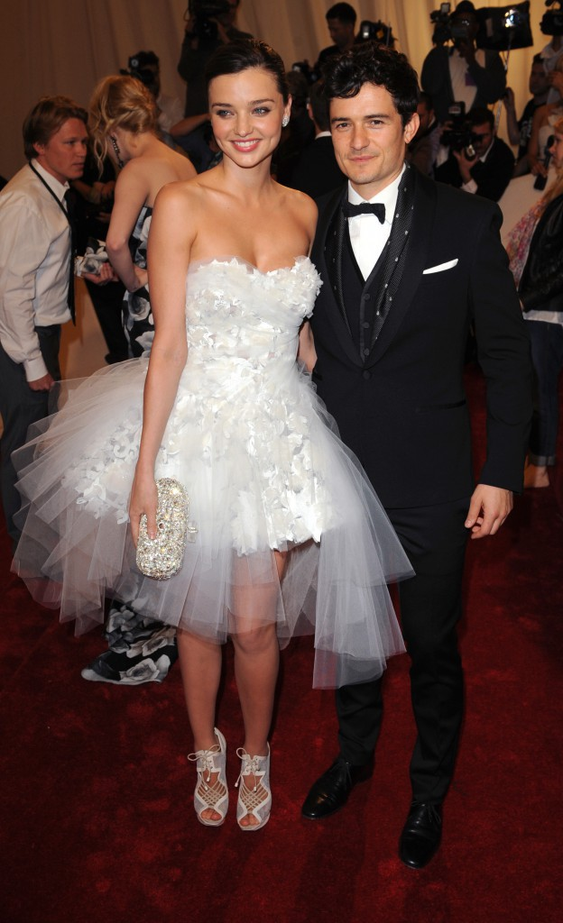 Orlando Bloom et Miranda Kerr