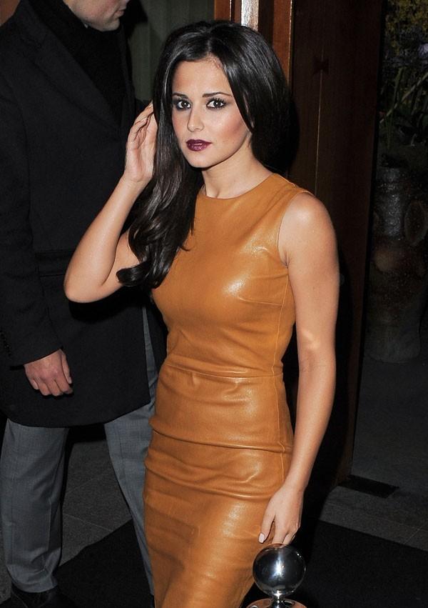 Cheryl Cole à la soirée d'anniversaire de Kimberley Walsh à Londres le 21 novembre 2012