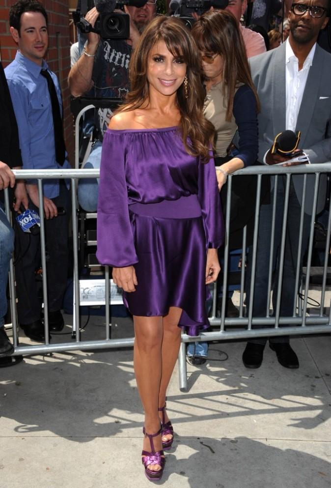 Paula Abdul à Los Angeles, le 8 mai 2011.