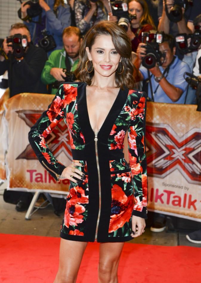 Cheryl Fernandez-Versini à Londres, le 26 août 2015