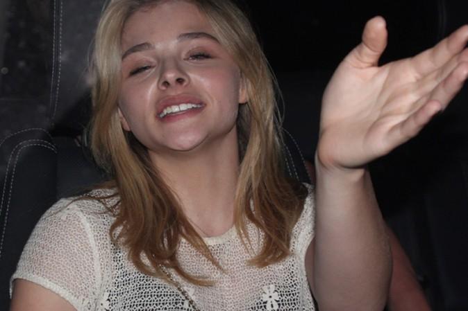 Chloë Moretz au concert d'Ed Sheeran organisé au Staples Center de Los Angeles le 27 août 2014