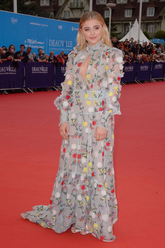 Chloë Grace Moretz au 42e Festival du film de Deauville