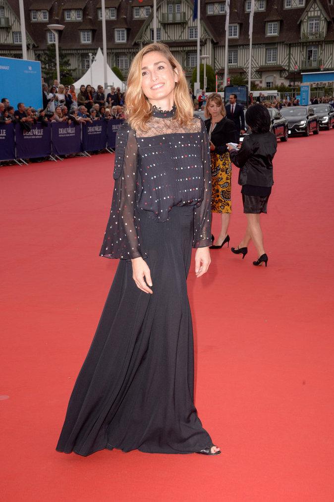 Julie Gayet au 42e Festival du film de Deauville