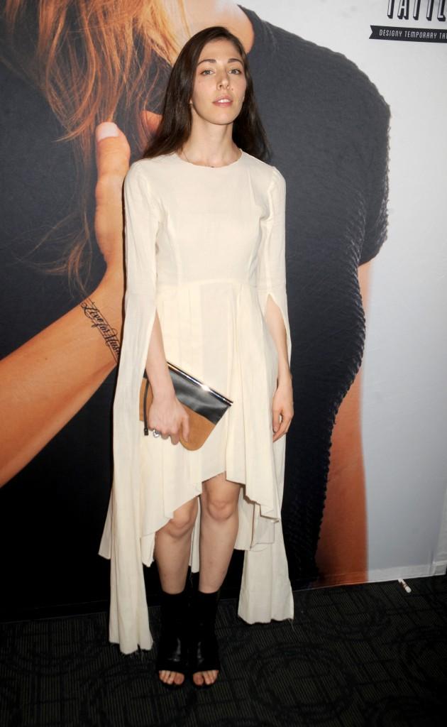 Caroline Polachek à New York le 18 août 2014