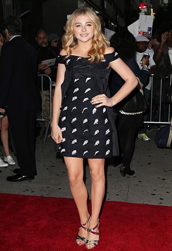 Chloë Moretz à New York le 22 septembre 2014