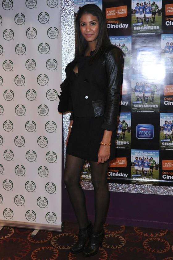 Chloé Mortaud à l'avant-première des Seigneurs à Paris le 25 septembre 2012