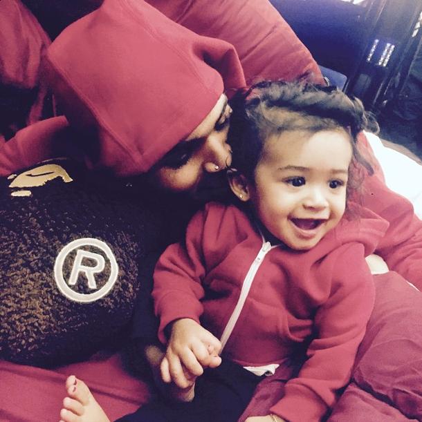 Photos : Chris Brown gaga de Royalty, ils s'affichent pour la première fois !