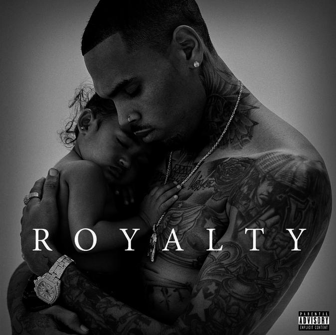 La pochete du nouvel album de Chris Brown, Royalty