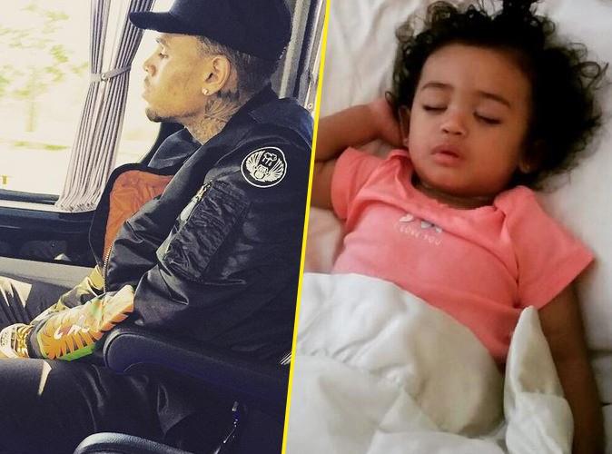 Photos : Chris Brown : il tente de se racheter une conduite auprès de sa fille