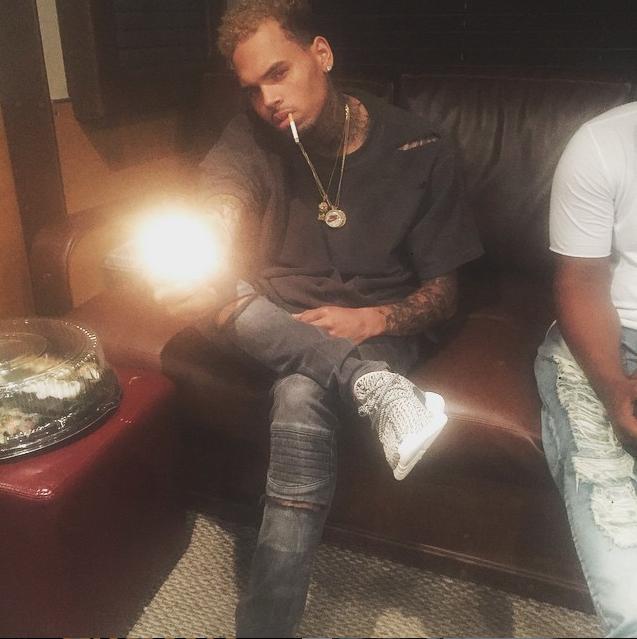 Chris Brown le 2 juillet 2015