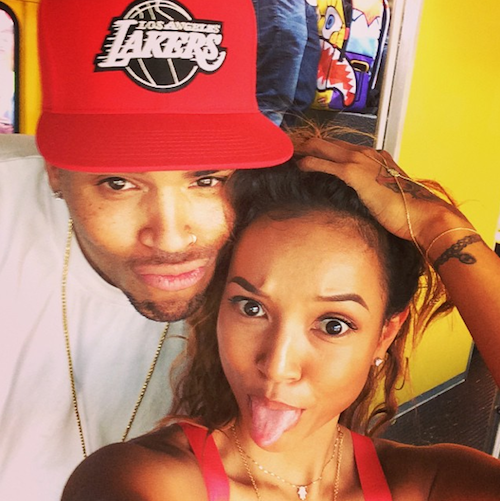 Photos : Chris Brown papa : il bafoue (encore) Karrueche Tran… Leur love story en danger ?
