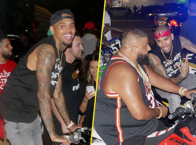 Chris Brown à Miami le 2 septembre 2015