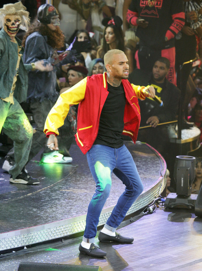 Chris Brown le 31 octobre 2015