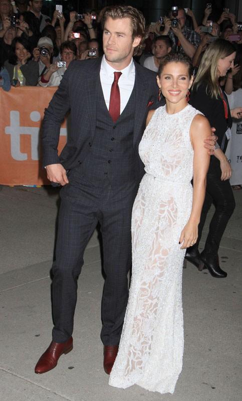 Chris Hemsworth en famille au Festival de Toronto
