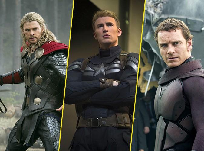 Photos : Chris Hemsworth, Michael Fassbender, Chris Evans : on craque toutes pour les super-héros !