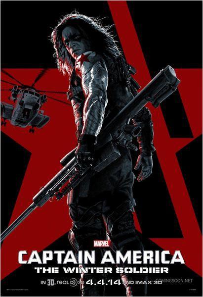 Sebastian Stan dans le rôle du Soldat de l'hiver (Captain America 2)