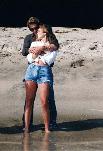 Cindy Crawford et Richard Gere