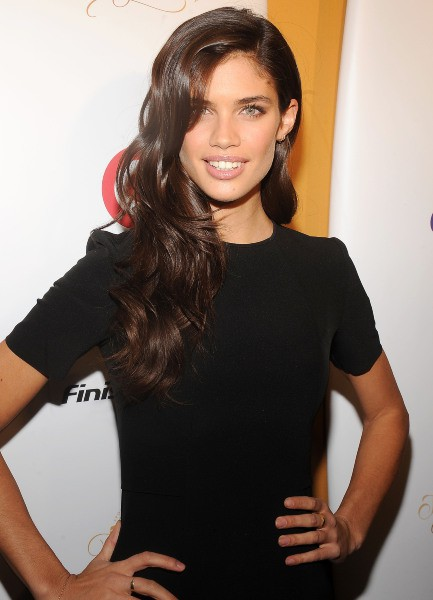 "Sara Sampaio lors de la soirée ""Sports Illustrated"" à New York, le 18 février 2014."