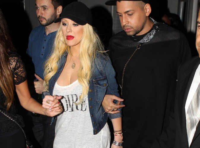 Christina Aguilera : au top pour sa premi�re apparition post-grossesse !