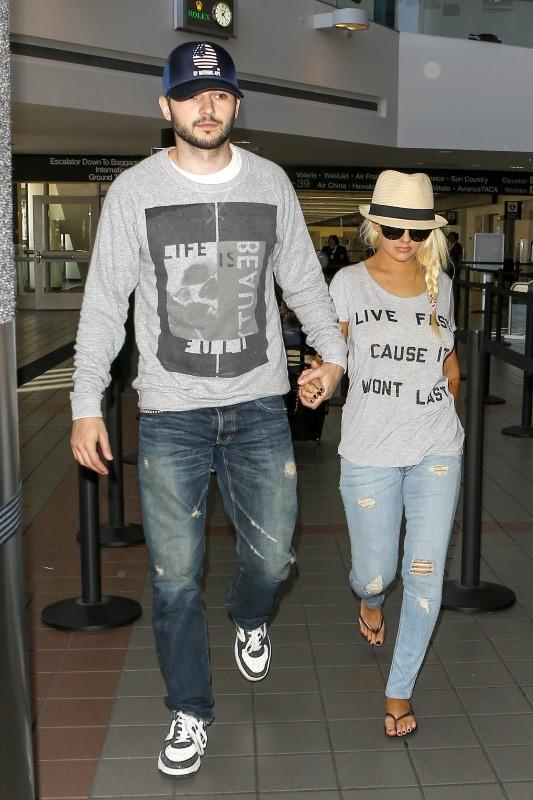 Christina Aguilera le 22 juin 2013 à Los Angeles