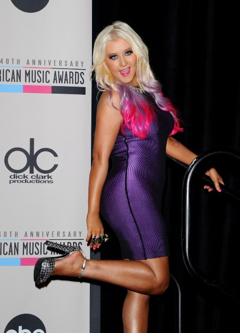 Christina Aguilera le 9 octobre 2012 à Los Angeles