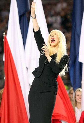 Christina au Super Bowl : une prestation ratée!
