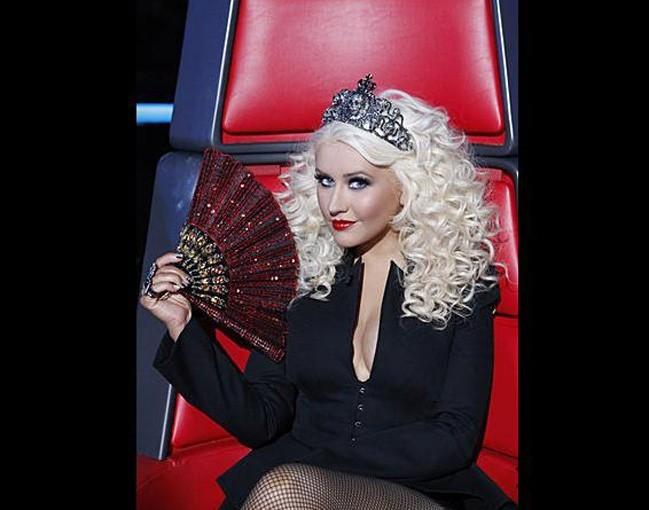 Christina Aguilera a sorti le diadème !