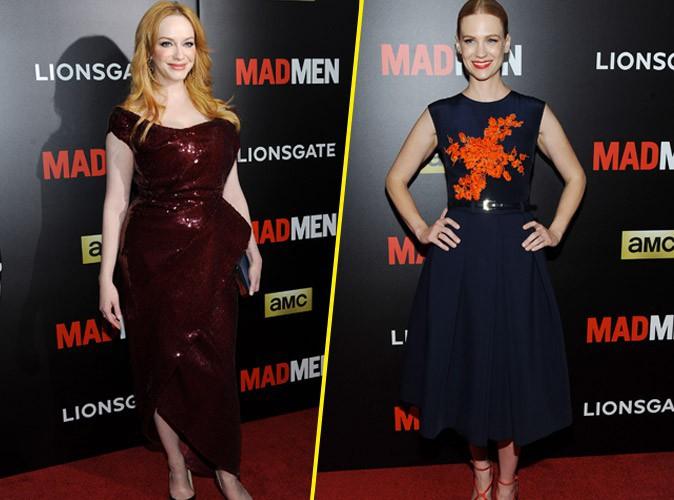 Photos : Christina Hendricks et January Jones : duel de coloration pour les stars de Mad Men !