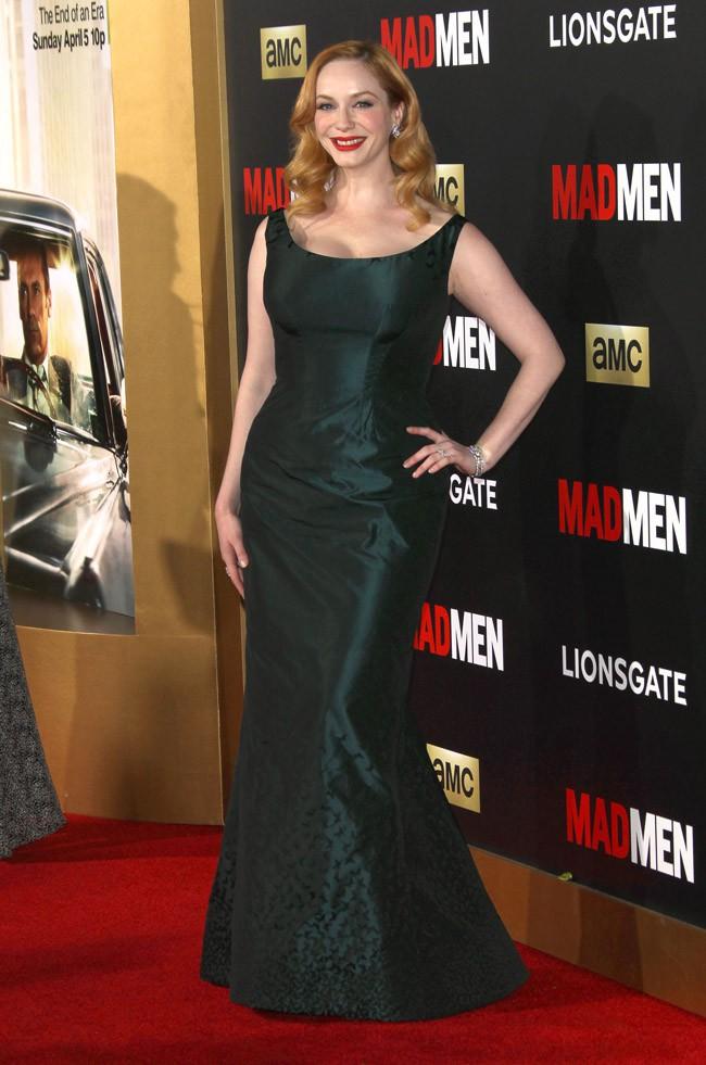 Christina Hendricks à la soirée Mad Men organisée le 25 mars 2015 à Los Angeles
