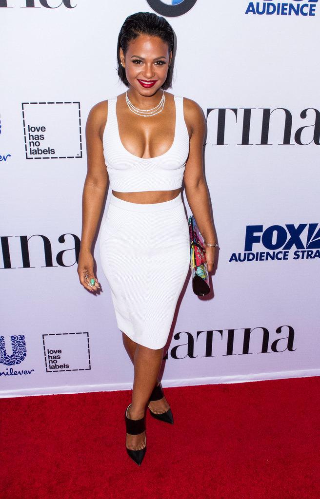 Christina Milian à Los Angeles le 6 octobre 2015