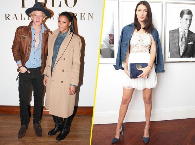 Photos : Ciara, Bella Hadid et Cody Simpson : trio de choc pour Ralph Lauren !