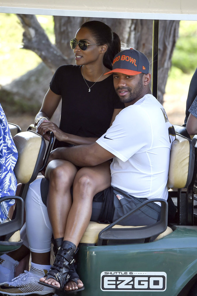 Ciara et Russell Wilson